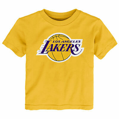 NBA Los Angeles Lakers Primary Logo T Shirt Top Toddler Infant & Baby Fanatics
