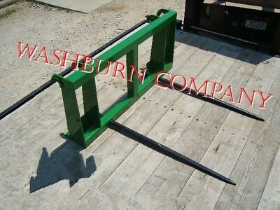 "Hay Spear fits John Deere 840, 2 Spears 48"" Long Spikes"