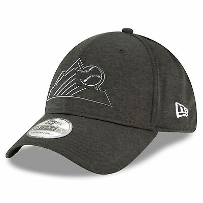 MLB Colorado Rockies New Era 2018 Clubhouse 39THIRTY Stretch Fit Cap Hat