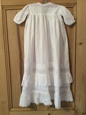 Antique Victorian Baby's Christening Gown