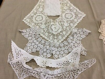Collection of Antique Lace Collars