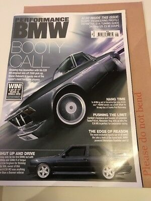 Performance bmw magazines. May 2008