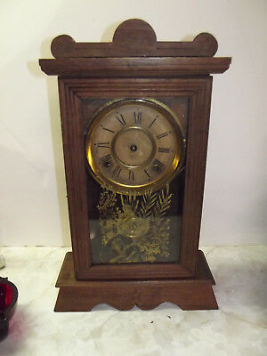 Antique Mantle Clock By Terry Clock Co of Pittsfield, Ma c 1883-1888