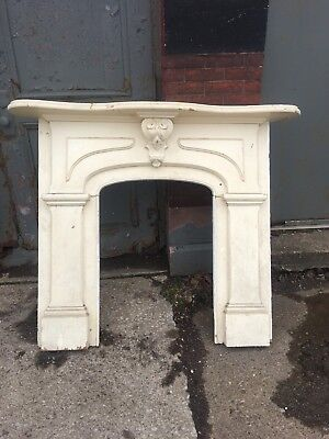 Great Old Antique Victorian Fireplace Mantle Possible Shipping??$$ Zip Mke Offer