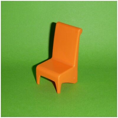 Playmobil   Designer Stuhl Esszimmer   Orange