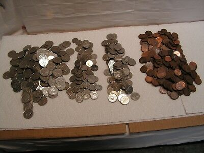 Lot of Mixed Canadian Coins for Spending or Exchange $65.03