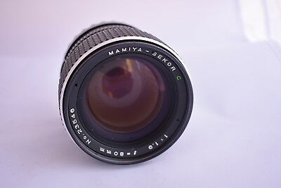 Mamiya-Sekor C 80mm f1.9 FAST Lens  for 645  M645 645 Super Exc+++