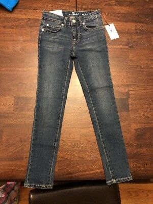 Girls Seven For All Mankind Skinny Jeans Size 7