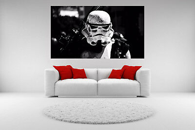 Storm Trooper Canvas Star Wars Giclee Print Picture Unframed Home Decor Wall Art