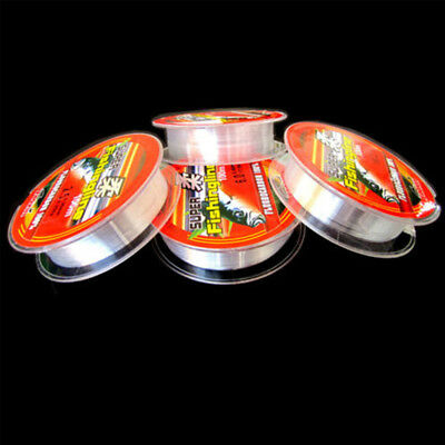 Super Strong 100% Fluorocarbon Monofilament Nylon PA Fishing Line 0.4-8LB 100m