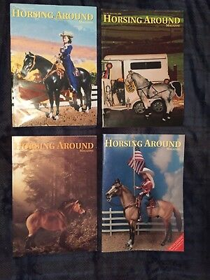 Horsing Around Magazine lot from 2003- Issues 55-58
