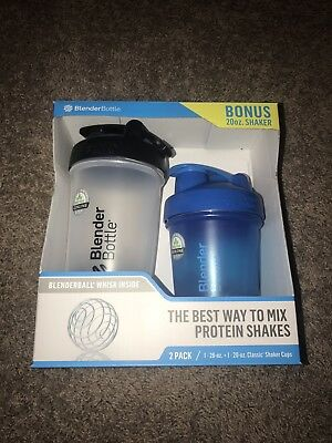 Blender Bottle Classic 2 Pack 28 Oz And 20 Oz. BPA FREE
