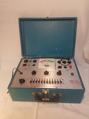 Vintage Conar Model 224 Tube Tester *Cleaned Tested Working*