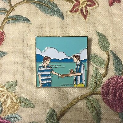 André Aciman Call Me by Your Name 2017 Movie Andre CMBYN Badge Pin Brooch Be