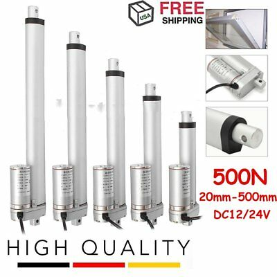 "Heavy Duty DC12V 225lb 2""/4""/6""/8""/10"" Stroke Electric Linear Actuator Motor BK"