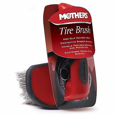 Mothers Comfort Grip Contoured  Tire Brush Car Detailing - NEW
