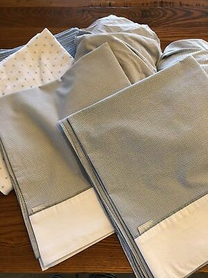 Sheridan Baby Bundle cot fitted & flat Sheet Set x2 / 2 Wraps awesome bargain