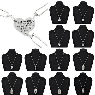 Family Women I Love You To The Dad Mom Daughter Son Heart Necklace Pendant Gift