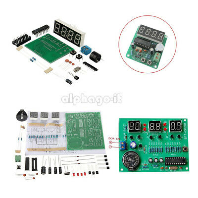 AT89C2051 Digital 4/6 Bits Electronic Clock Electronic Production DIY Components