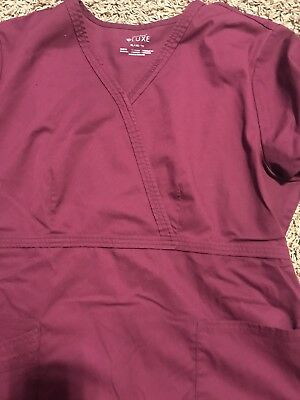 Women's Scrubs L petite pants and XL tops mixed lot- Nearly New.