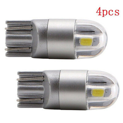4 X T10 W5W 168 2 LED 6500K Car interior Reading Light 12V DC White Lamp