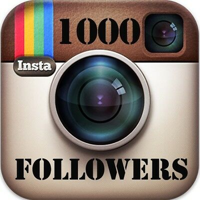 1000 Instagram followêrs |Fast Delivery-instant-HQ|