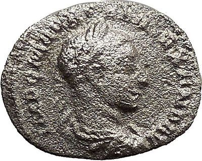Severus Alexander Silver Ancient Roman Coin Equality Prosperity Cult  i30456