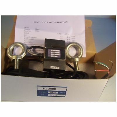 Amcells S-Type Load Cell Hanging/Crane Scale Alloy Steel,1000 Lb, 2 Eye Bolt ...