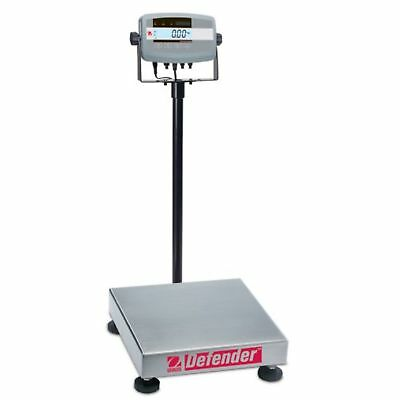 Ohaus Defender 304 Stainless Steel Ntep Certified Bench Scale, 50000g X 5g