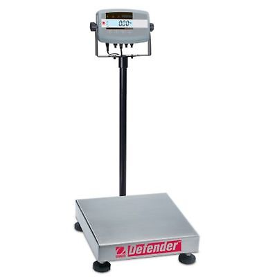 Ohaus Defender 304 Stainless Steel Ntep Certified Bench Scale, 250000g X 20g