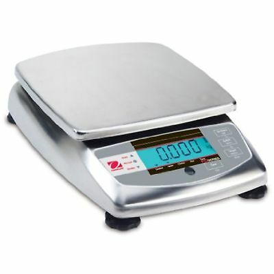 Ohaus Compact Bench Scales Fd Series Compact Scales Model Fd3, 6lb X 0.001lb ...