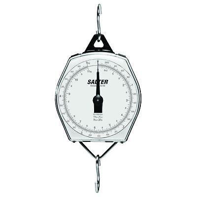 Salter Mechanical Hanging Scale Plastic Case 220 Lb. Capacity X 1 Lb. Resolution