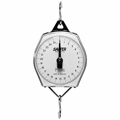 Salter Mechanical Hanging Scale Plastic Case 11 Lb. Capacity X 1 Oz. Resolution