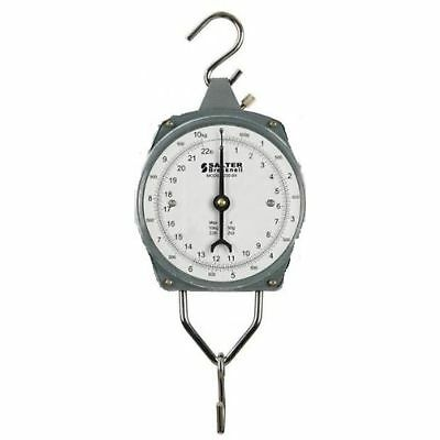 Salter Brecknell -11/5 Dual-Marked Mechanical Hanging Scale, 11 Lb Capacity, ...