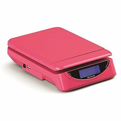 Salter Brecknell Blps250906p25l PS25 Pink Small Parcel Scale, Abs With Flip  ...