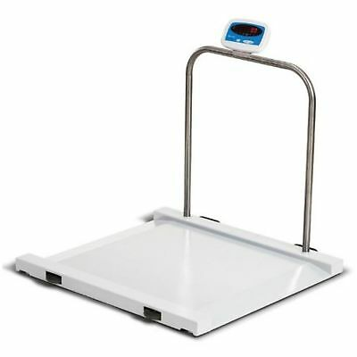 Salter Brecknell Physician Medical Wheelchair / Drum Scale 1000 Lb X 0.5 Lb  ...