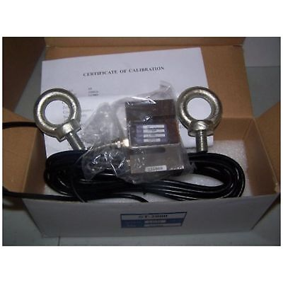 Amcells S-Type Load Cell Hanging/Crane Scale Alloy Steel,2000lb,20' Cabl ...