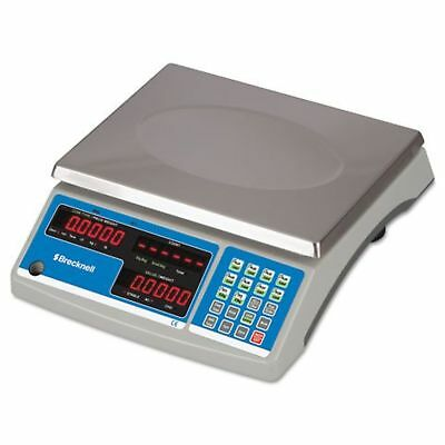Brecknell Electronic 60 Lb. Coin & Parts Counting Scale, Gray B140 Dmi Ea