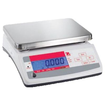 Ohaus Valor Abs Plastic/Stainless Steel Compact Precision Scale With Dual Di ...