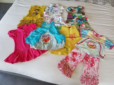 lot vetements de marque fille 2/3 ans oilily catimini 9 pcs état impecaccable