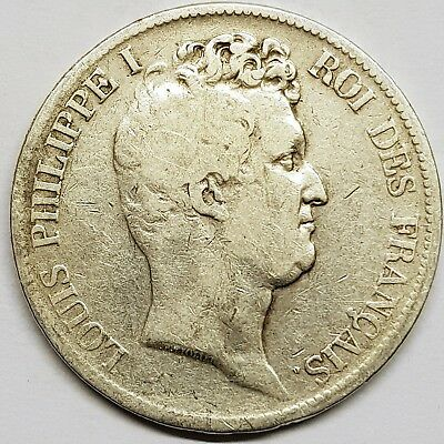 Ecu de 5 Francs Louis Philippe 1831 M