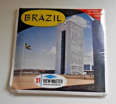 * Mint / Sealed * Brazil Viewmaster Reels Set B057 Rare    B020