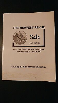 Midwest Revue Brown Swiss Dairy Cattle Sale Catalog 2003 Columbus Ohio