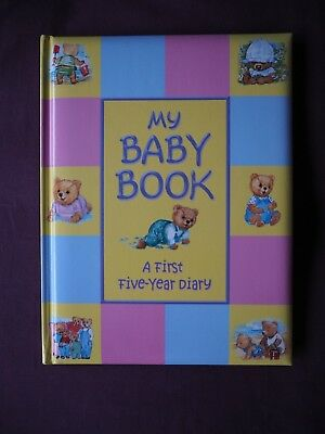 NEW - My Baby Book, first 5 years from birth to starting school diary/keepsake
