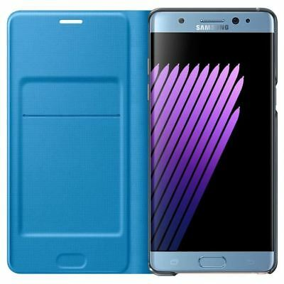SAMSUNG LED View Cover Note 7 Bleu