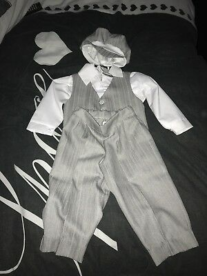 boys christening outfit 9-12 months