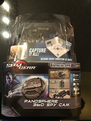 Spy Gear PANOSPHERE 360 SPY CAM Stealth Degree Panorama Video Camera BRAND NEW