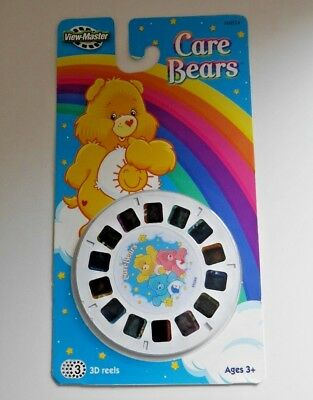 Sealed Care Bears Viewmaster Reels 3 Reel Set H4824 Rare 2005 Fisher Price B051