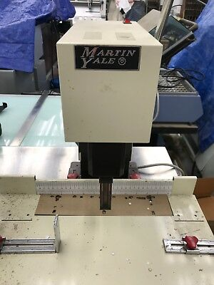 Martin Yale Table Top Paper Drill Real Nice Unit