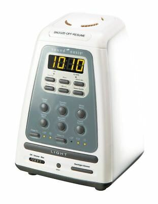 Sound Oasis BLS-100SO Natural Wake Up Sleep System Alarm Clock Aromatherapy NEW